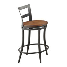 Hobson Dining Room Collection, Swivel Counter Height Chair, Set of 2