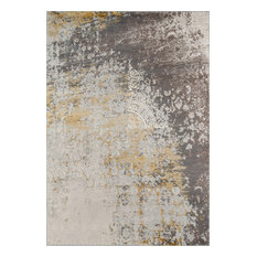 "Luxe Rug, Gold, 7'10""x9'10"""