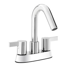 modern bathroom faucets. Keeney  Belanger Bathroom Sink Faucet Polished Chrome Finish 2 Handles 4 Most Popular Modern Faucets for 2018 Houzz