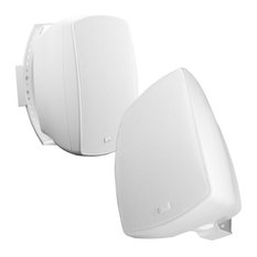 "6.5"" High Definition Patio Speaker Pair, AP650, 70V Optional, White, No 70v"