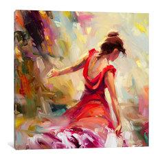 """Dancer Gallery"" by Steve Henderson, 18x18x0.75"""