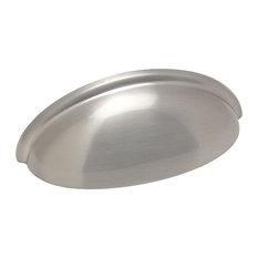 Cosmas 783 Cabinet Cup Pull, Satin Nickel