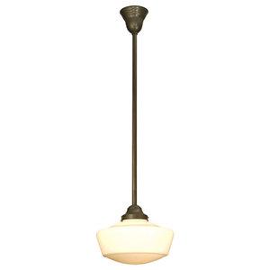 Millennium Lighting 5351-RBZ Neo-Industrial 1-Light Mini Pendant Rubbed Bronze