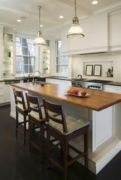 Wood Butcher Blocks Look Great In Kitchens I Agree With What Ironwood Builders Said About Them A Good Source For Countertops Online Is Chop Bloc