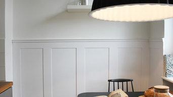 Wohnküche auf reduziertem Raum