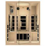 JNH Lifestyles - JNH Lifestyles Joyous 3 Person Far Infrared Sauna - HEATERS: