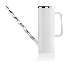 Watering Can in White by Blomus, 51 oz, White