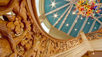 Northern Staircase Company Custom Curved Staircase