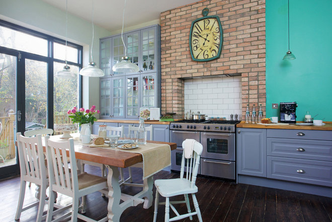 Farmhouse Kitchen by Cathy Dean Interior Design