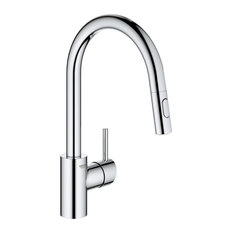 Grohe Concetto Single-Handle Kitchen Faucet, Starlight Chrome