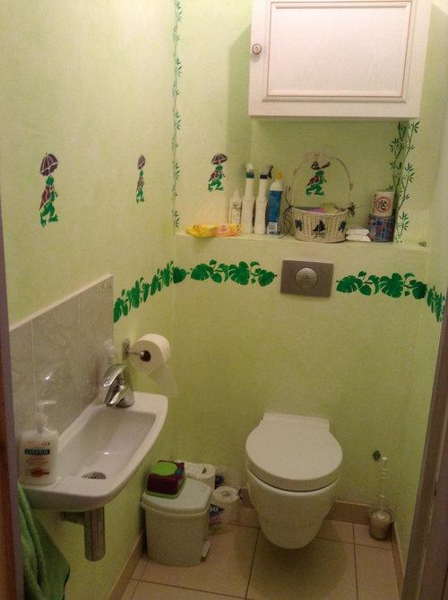 Refaire les toilettes
