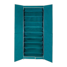 Wenko - Breeze Shoe Cabinet, Turquoise - Shoe Storage