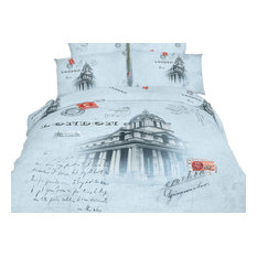 Quit/Duvet Cover Bedding Sheets Set Novelty Design by Dolce Mela, London , Twin