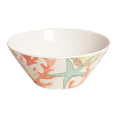 Galleyware Reef Melamine Soup/Cereal Bowls, Set of 6