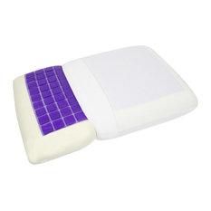 Signature Memory Foam Gel Top Pillow Queen