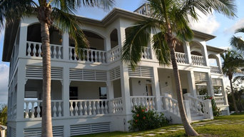 Tropical Vacation Home Re-paint
