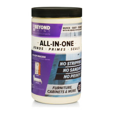 Furniture, Cabinets and More All-In-One Refinishing Paint Quart, Linen