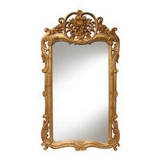 Flourishing Mirror, Gold Leaf