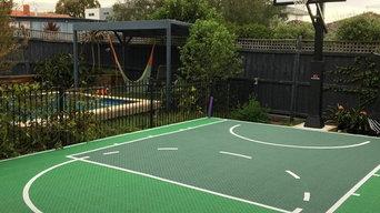 Basketball court design
