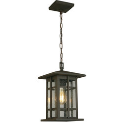 Craftsman Outdoor Hanging Lights by Hansen Wholesale