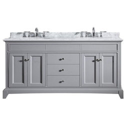 Cool Traditional Bathroom Vanities And Sink Consoles by Eviva LLC