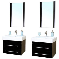 Best Contemporary Bathroom Vanities And Sink Consoles by Unique Online Furniture