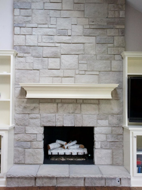 Stone Fireplaces Before Amp After