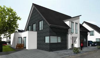 Einfamilienhaus mit Eisheizung