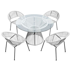 Contemporary Outdoor Dining Sets by Harmonia Living
