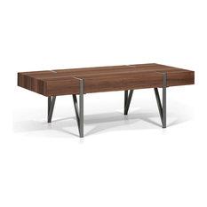 Rectangular Slab Top Coffee Table