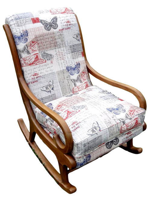 Parker knoll rocking chair transformed - Knoll rocking chair ...