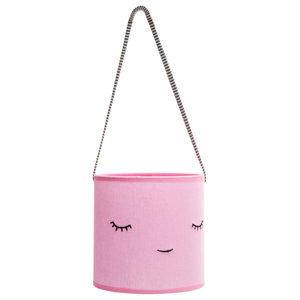 Children's Cotton Creature Lamp, Pink