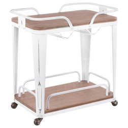 Industrial Bar Carts by VirVentures
