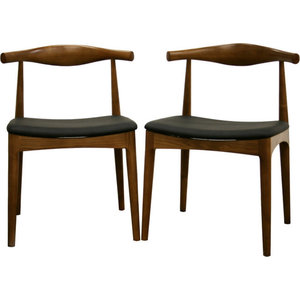 Amazing Poly And Bark Keren Dining Chair Set Of 2 Midcentury Bralicious Painted Fabric Chair Ideas Braliciousco