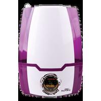 Clean Mist Smart Ultrasonic Digital Humidifier 70hr Run Time, Purple