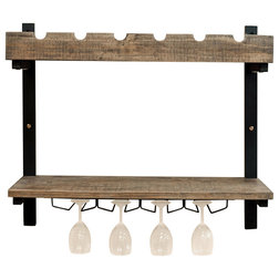 Industrial Wine Racks by Bolton Furniture, Inc.