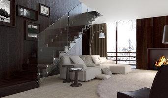 Интерьерные Лестницы из Стекла