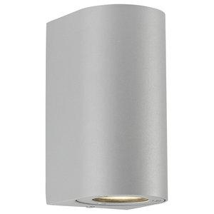 Canto Maxi Outdoor Wall Light, Grey
