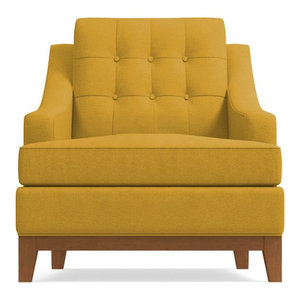 Great Reviews Bannister Chair Mustard By Apt2b