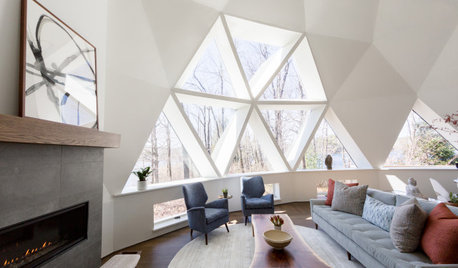 Buckminster Fuller-Inspired Geodesic Dome Shows Its Bright Side