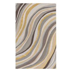 Artistic Weavers Lounge Carmen 8'x10' Grey, Gold Rug