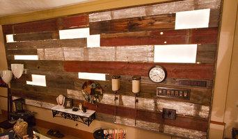 Reclamed Wood Wall
