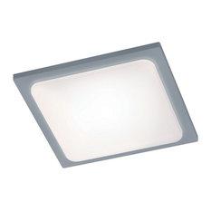 Arnsberg Trave LED Outdoor Patio Light, Titanium/Light Gray, 620160187