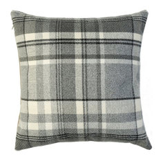 McAlister Heritage Filled Cushion, Charcoal Grey, 49x49 cm