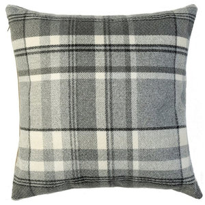 McAlister Heritage Filled Cushion, Charcoal Grey, 60x60 cm