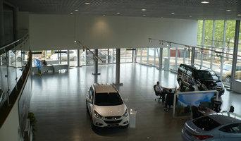 """Остекление автоцентра """"Хёндэ"""" в г. Иркутске (2011 г)"""