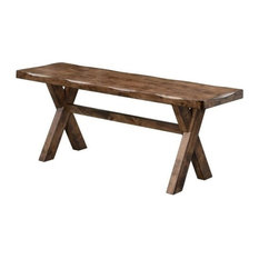 Attractive Coaster Furniture   Alston Trestle Style Bench   Dining Benches