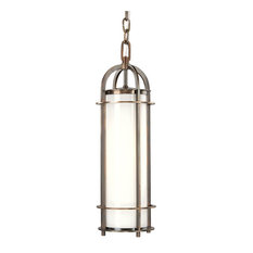 Portland 1-Light Pendant, Historic Bronze, 16""