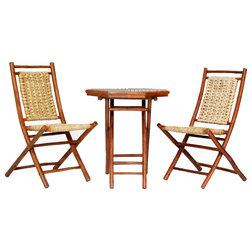 Tropical Outdoor Pub And Bistro Sets by Heather Ann Creations