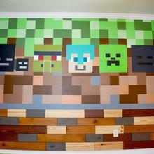 Minecraft Kids room